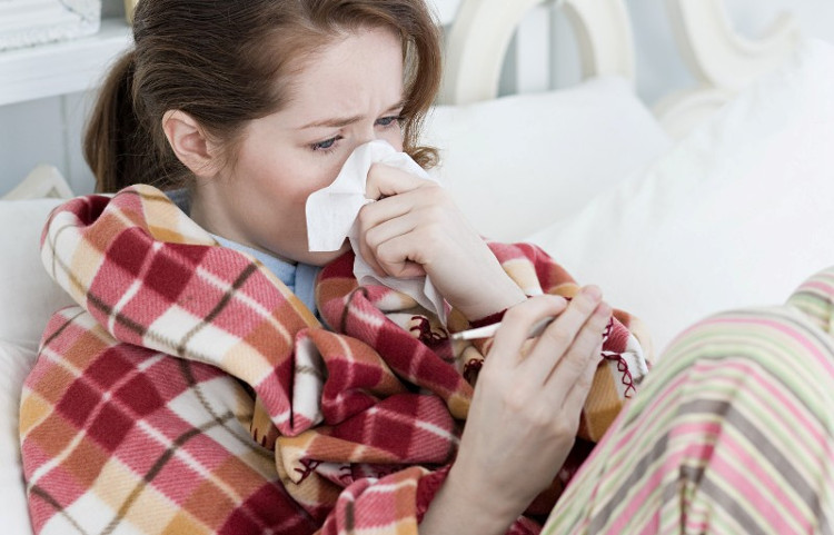 Cảm lạnh là bệnh thường xảy ra nhất trong mùa mưa.