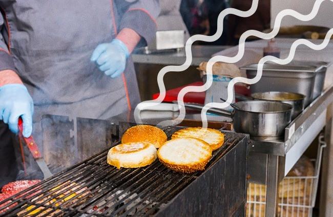 Mùi thực phẩm hấp dẫn sẽ câu kéo được nhiều khách hàng hơn.