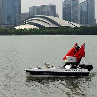 Trung Quốc dùng tàu không người lái đi cứu người