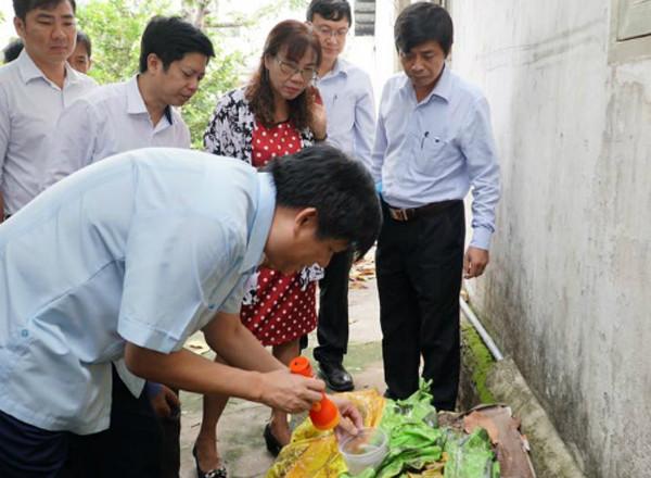 Thứ trưởng Y tế Nguyễn Thanh Long kiểm tra công tác phòng chống dịch sốt xuất huyết