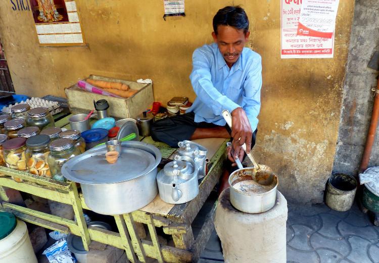 Loại trà phổ biến nhất ở Ấn Độ là trà chai.