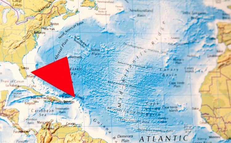 Vùng biển được mệnh danh là tam giác quỷ Bermuda.