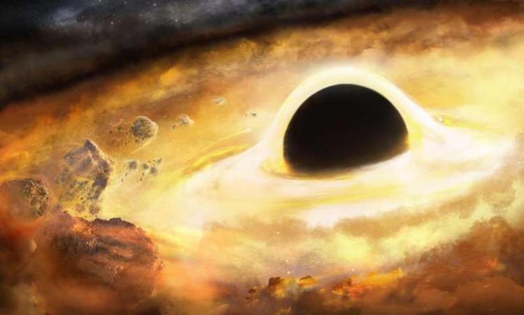 Các lỗ đen vốn không bao giờ phát ra các ánh sáng có thể nhận thức được.