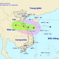Chiều và tối nay, bão số 4 sẽ đổ bộ vào Hà Tĩnh - Quảng Bình