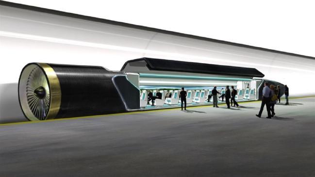 Đường hầm dùng cho Hyperloop sẽ được xây dựng ở trên cao hoặc dưới mặt đất.