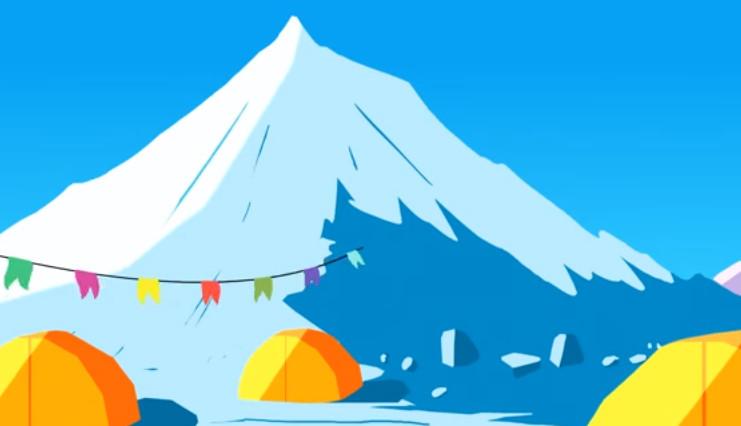 Đỉnh Everest được hình thành cách đây khoảng 50 triệu năm.