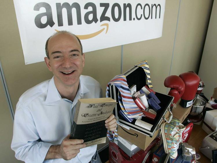 Jeff và Amazon những ngày đầu.