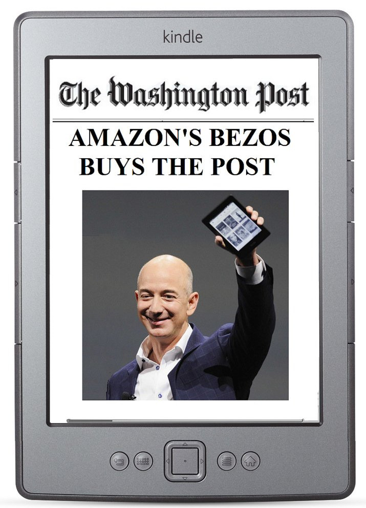 Jeff Bezos đã hồi sinh The Washington Post.