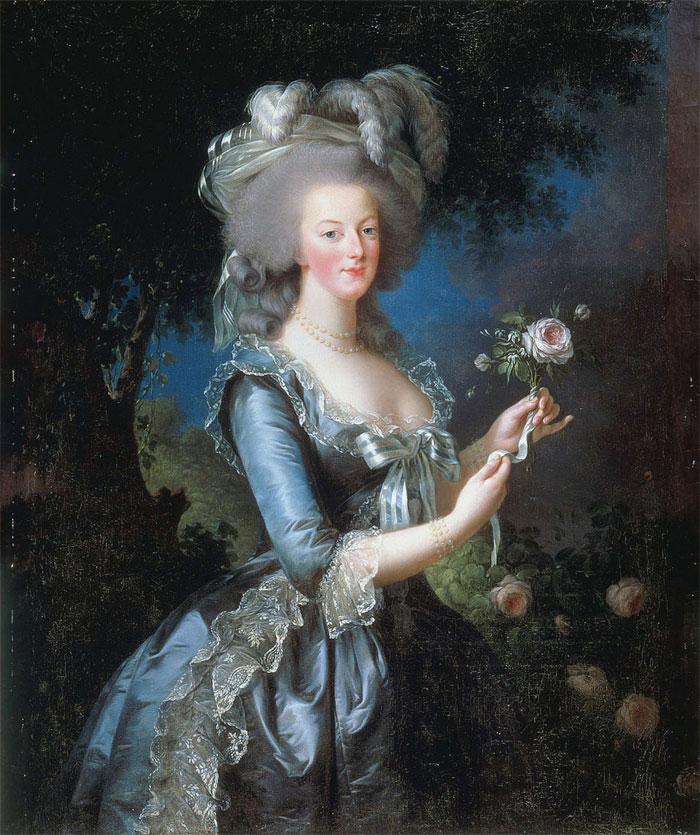 Hoàng hậu Marie Antoinette.