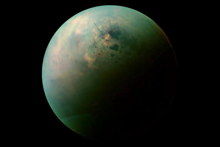 Mặt trăng Titan của sao Thổ