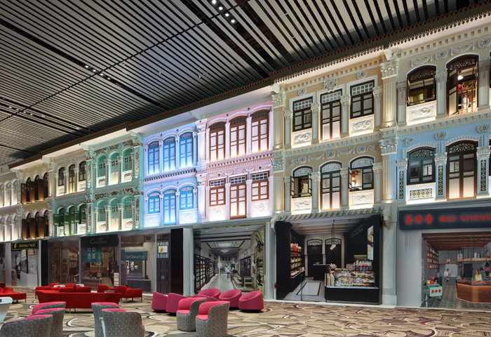 Hành khách qua nhà ga T4 sẽ được trải nghiệm nhiều khung cảnh khác nhau với các màn hình số LED 3 chiều.