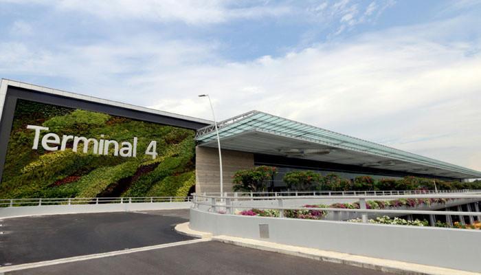Nhà ga T4 của sân bay Changi