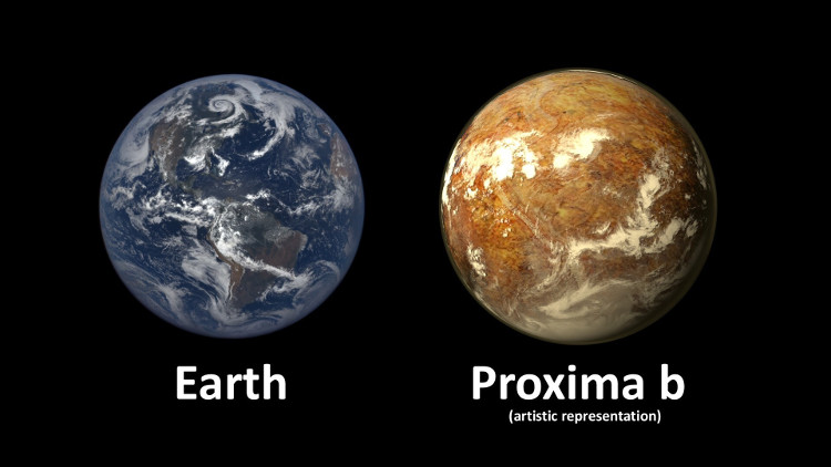 Proxima b có kích thước tương đồng với Trái Đất