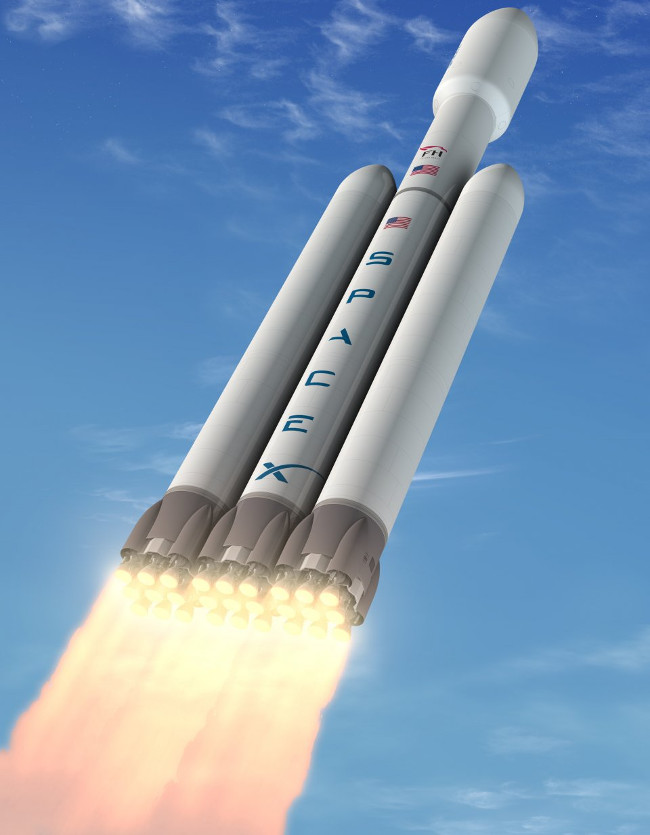 Đây sẽ là tên lửa mạnh nhất từ sau tên lửa Saturn V