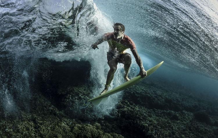 Under The Wave, Tavarua, Fiji