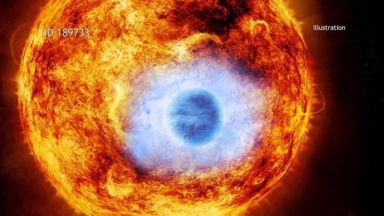 Hành tinh này có nhiệt độ rơi vào khoảng 1.000 độ C.