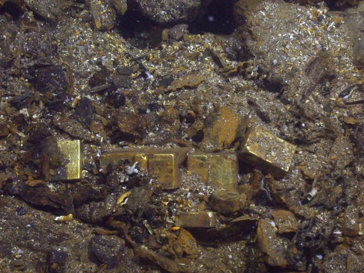 Nhiều vàng vẫn đang nằm dưới đại dương, chờ được trục vớt.