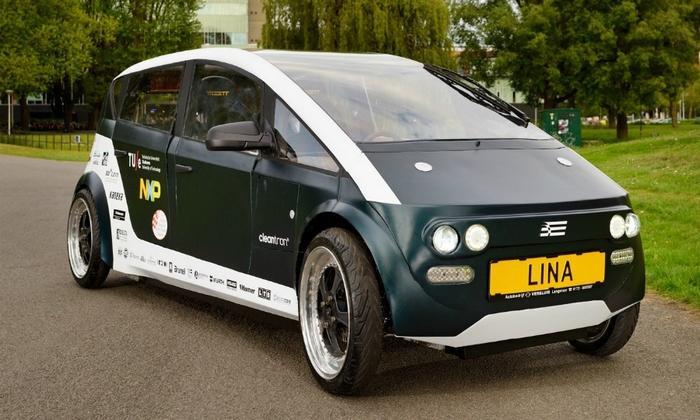 Xe Lina có vận tốc tối đa khoảng 80km/h.