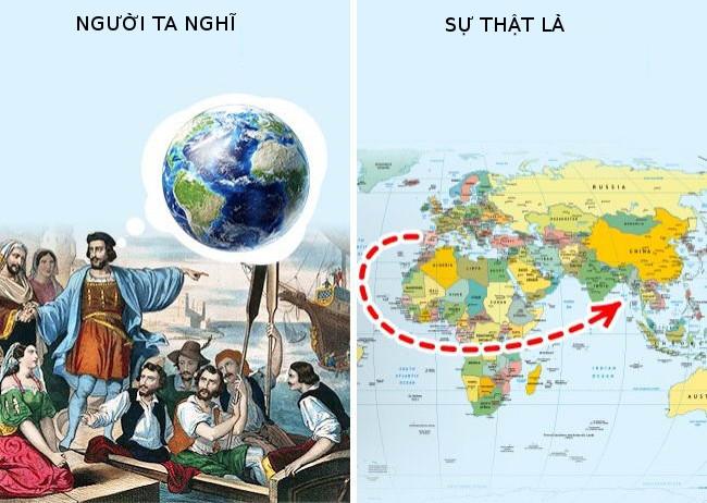 Vào thời Trung cổ, người ta đã biết Trái đất hình khối cầu.