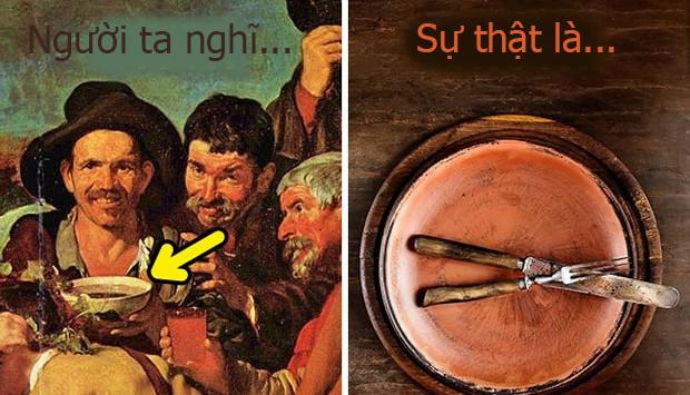Những bộ dao nĩa dùng để ăn đã được dùng rất rộng rãi vào thời này.