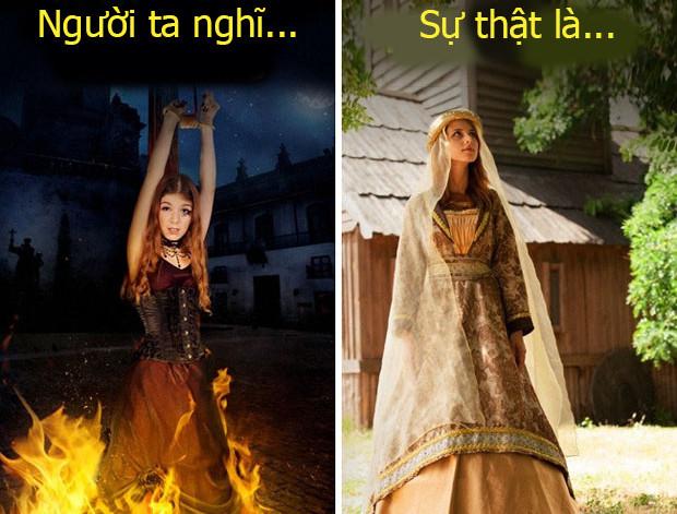 Vào thời Trung cổ, con người thậm chí còn không tin vào sự tồn tại của phù thủy.