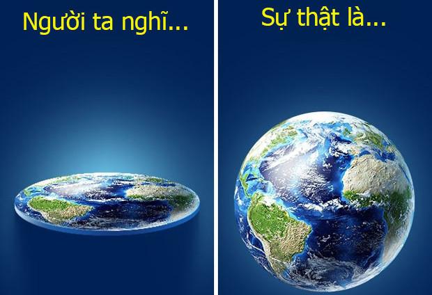 Thật ra, ý tưởng về việc Trái đất phẳng tồn tại giữa cộng đồng người Scandinavi.