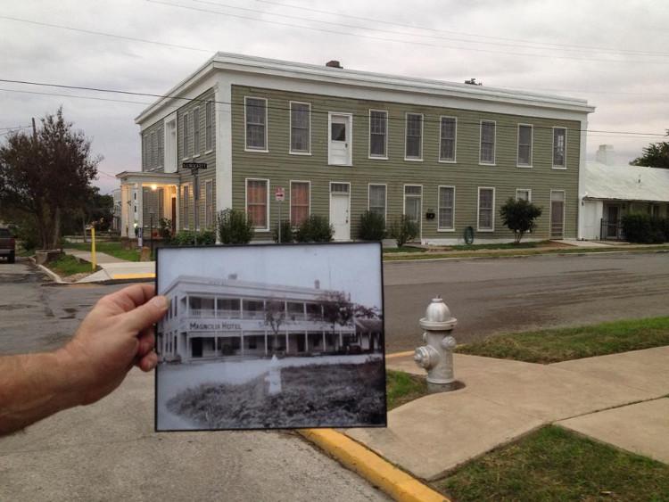 Khách sạn xưa và nay.
