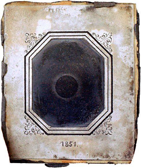Ảnh chụp nhật thực năm 1851.