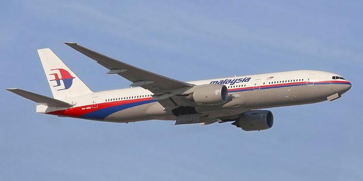 Một máy bay của hãng hàng không Malaysia Airlines.