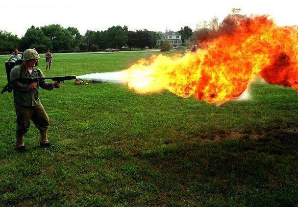 Loại súng này ban đầu được dùng để diệt cây cối.