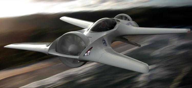 Trọng lượng xe được tối ưu để đạt tốc độ bay vượt trội.