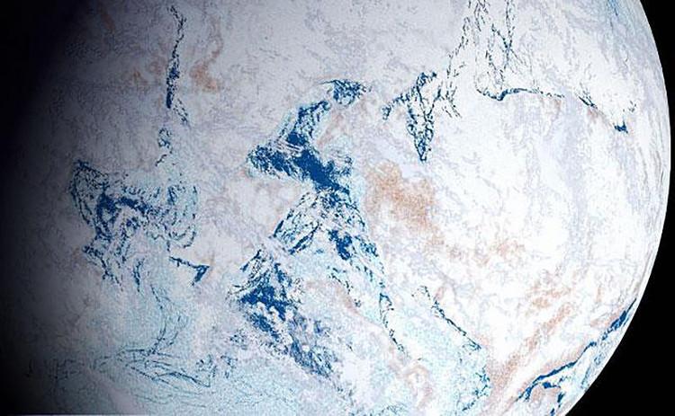 Trái đất đóng băng chính là chìa khóa.