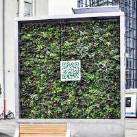 """""""Cây"""" công nghệ cao có thể lọc sạch không khí ô nhiễm"""