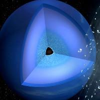 Mô phỏng mưa kim cương trên sao Hải Vương và Thiên Vương