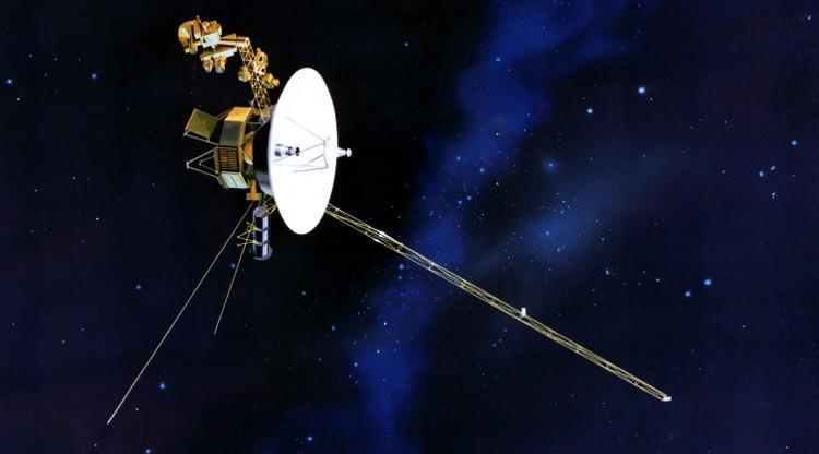 Tàu vũ trụ Voyager-2.