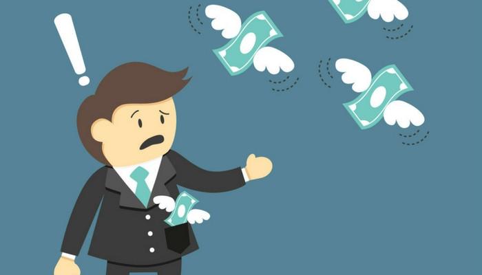 Nếu đưa tiền cho người khác mà bạn không thoải mái chứng tỏ bạn đnag có 1 nỗi lo lớn trong lòng.