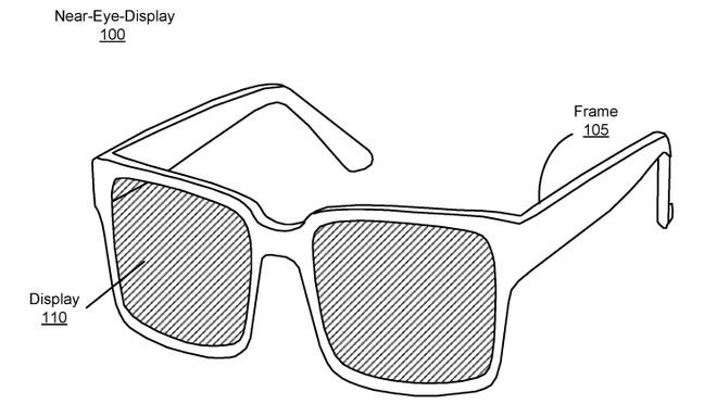 Chiếc kính này có thể hiển thị hình ảnh, video hoặc kết nối với loa, tai nghe để chơi nhạc.