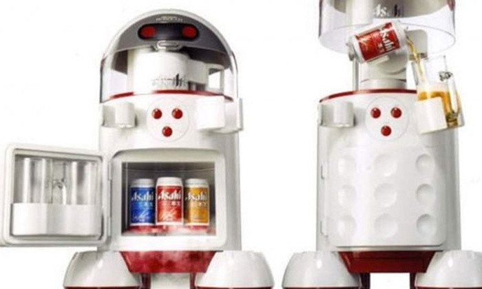 Robot bia