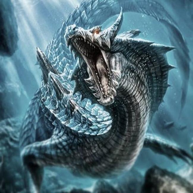 Hình dáng khác của quái vật Cirein Croin.