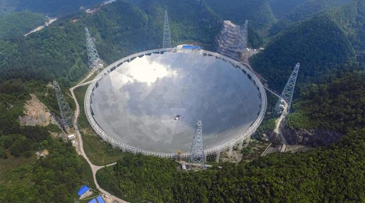 Toàn cảnh chiếc kính thiên văn lớn nhất thế giới FAST.