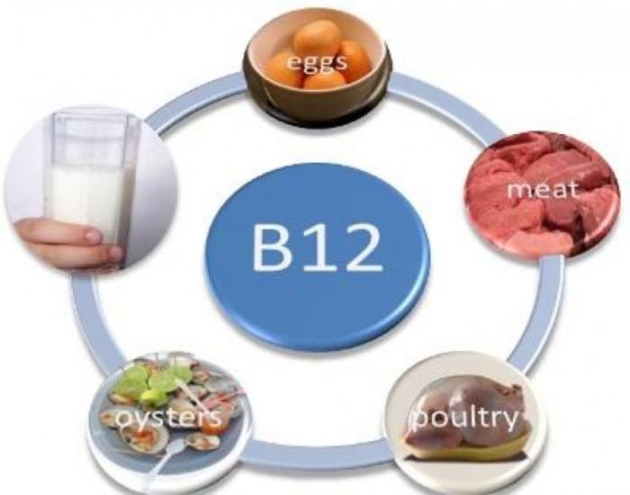 Những thực phẩm chứa vitamin b12.