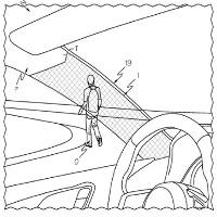 Toyota đăng ký bằng sáng chế cho trụ A xe ô tô có thể nhìn xuyên qua