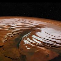Bão tuyết dữ dội xuất hiện ban đêm trên Sao Hỏa