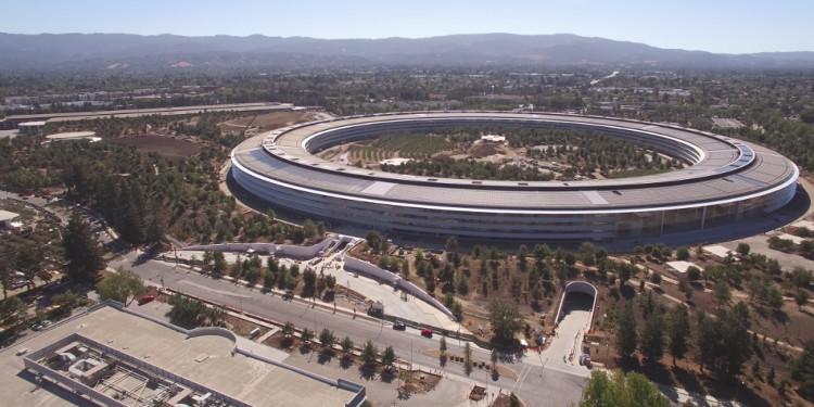Tổng thể trụ sở của Apple.