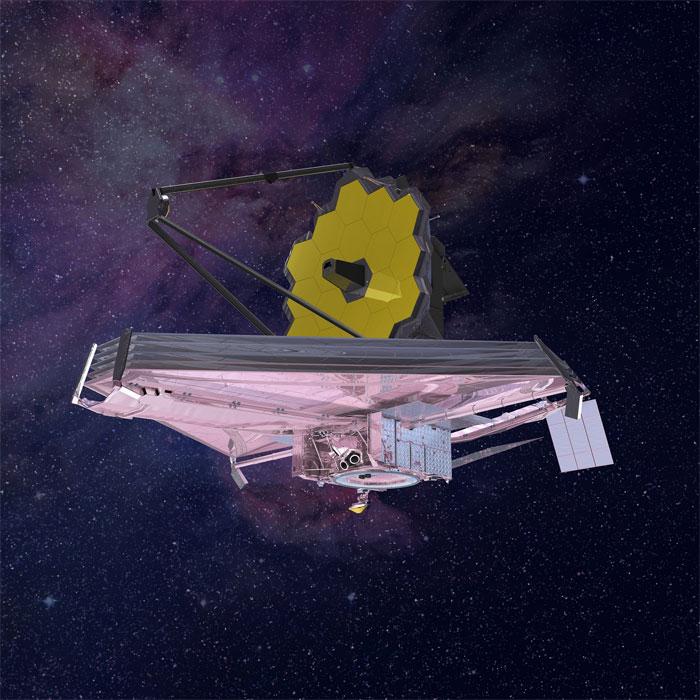 Kính viễn vọng James Webb là chiếc kính viễn vọng không gian mạnh nhất từng được chế tạo.