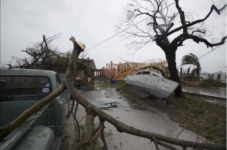 Sức tàn phá khủng khiếp của cơn bão Harvey.