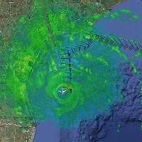 Những người lao vào mắt bão Harvey để nghiên cứu