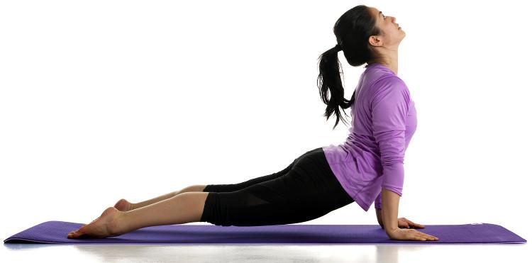 Thảm tập yoga.