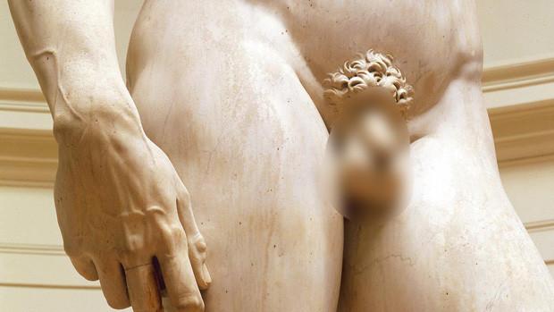Tượng của David - một trong những biểu tượng của vẻ đẹp cơ thể con người.