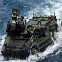 Chiếc xe lội nước khổng lồ AAV của thủy quân lục chiến Mỹ có gì đặc biệt?